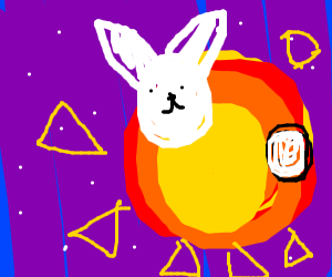 Rabbit on the Sun