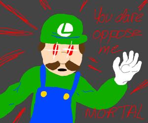 Luigi became a god