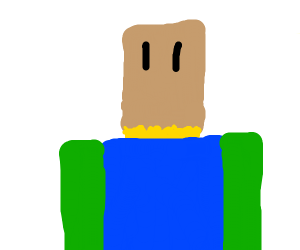 Roblox man has identity crisis