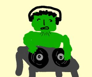 DJ Hulk in the house