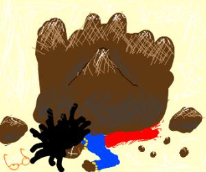 whoopi goldberg is crushed