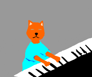 that piano cat meme thats really old