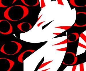 demonic fox