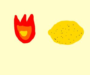 fire lemon