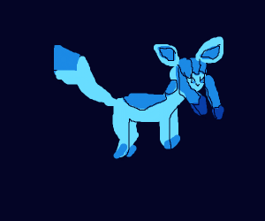 weird blue pokemon