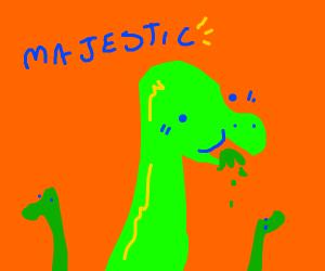 Dinosaur (long neck, vegetarian, one)
