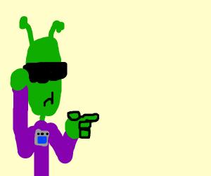Cool alien