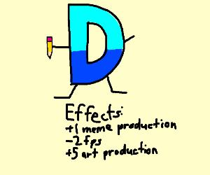 Drawception takes away 2 fps