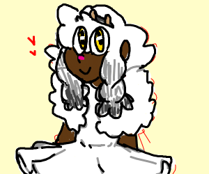 Wooloo but as a human being