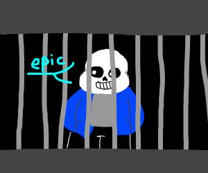 sans in prison