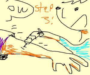 step 3: get your tetanus shot!