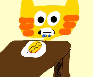 Garfield Desires a Meal