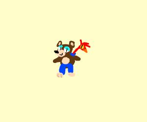 Chibi Banjo Kazooie