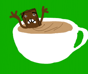 biscuit drowns in coffee