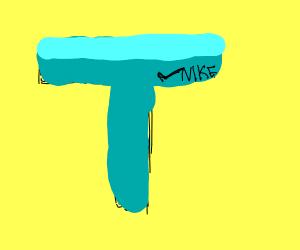 Nike branded T