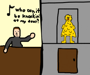Who Can It Be Knocking At My Door Drawception