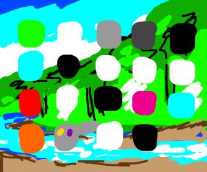 Draw ur phone home screen