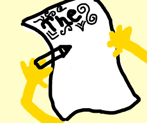 Spongebob's essay THE