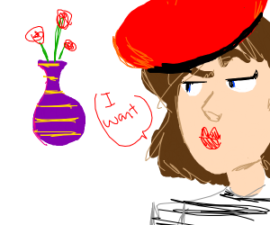 French woman wants vase