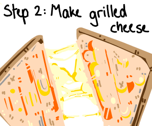 step 1. cheese