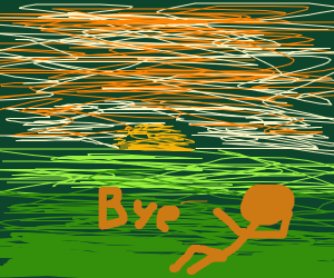 """""""Goodbye, Sun"""" -- The Tree People"""