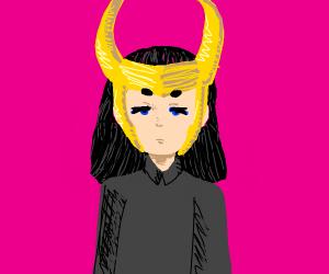 Loki. Just Loki. Standing still.