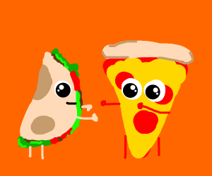 Tacos vs pizza