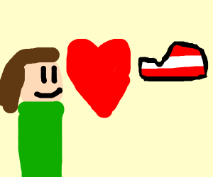 girl in love with latvia