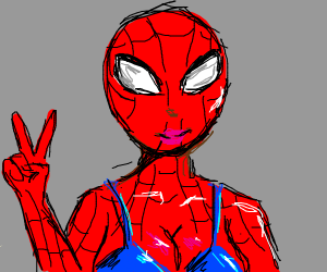 The Kinky Spider man