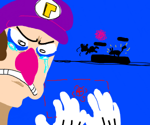 waluigi feels left out due to no smash invite