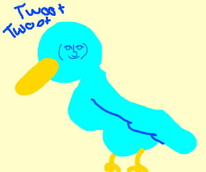 Thicc Bird. Twoot Twoot.