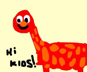 Yelmo as a giraffe