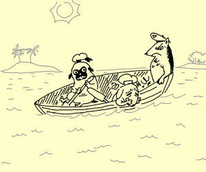 Seasick Dog