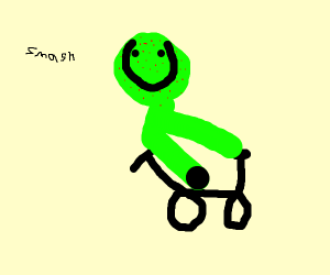 Hulk Biking