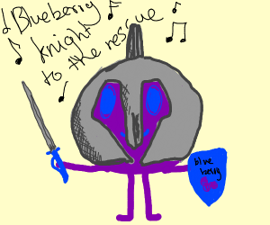 Blueberry knight