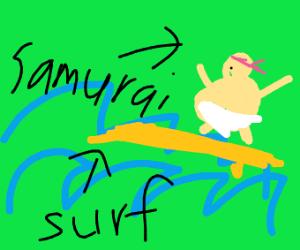 samurai surfer