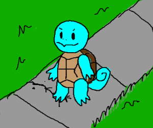 Squirtle on crack