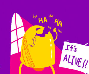 A bell is Alive! GASP