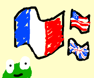 Flags flav frog