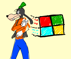 Goofy hates Windows