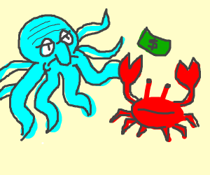 """""""Realistic"""" Squidward and Mr Krabs"""