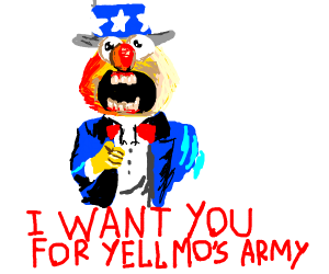 Uncle Yellmo Wants You (for Yellmo's Army)