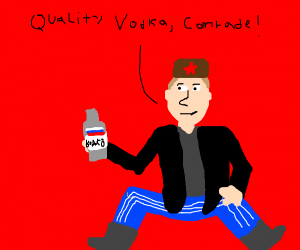 Slav boy selling quality merch