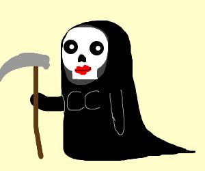 Female grim reaper?