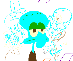 Squidward has an existential crisis