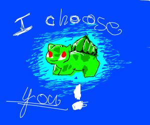 I choose Bulbasaur as my partner