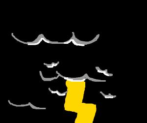 Black Thunderstorm