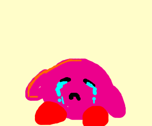 Crying kirby