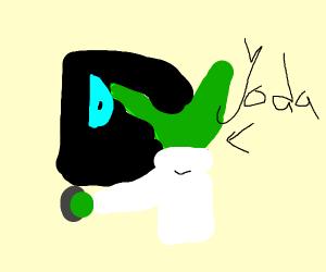 Yoda playing Drawception