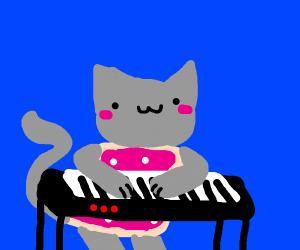 Nyan Cat Piano Cat